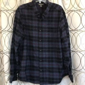 Eddie Bauer Flannel Button-Down